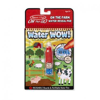 On The Farm: Water Wow! Water-Reveal Flip Pad