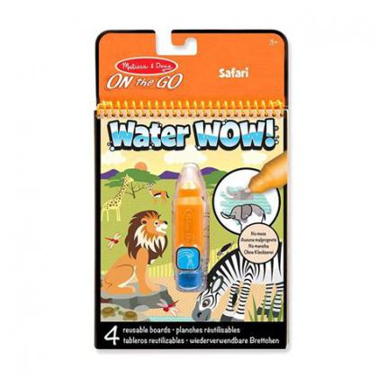 Safari: Water Wow! Water-Reveal Flip Pad