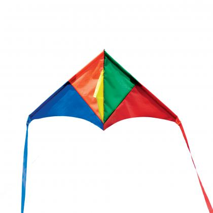 "Mini Rainbow Delta Kite (18"" Wingspan)"
