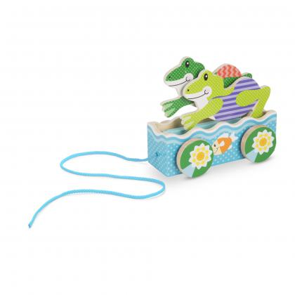 Friendly Frogs Pull Toy