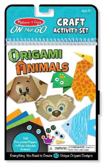 Origami Animals: On the Go Craft Activity Set