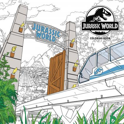 Jurassic World: Coloring Book