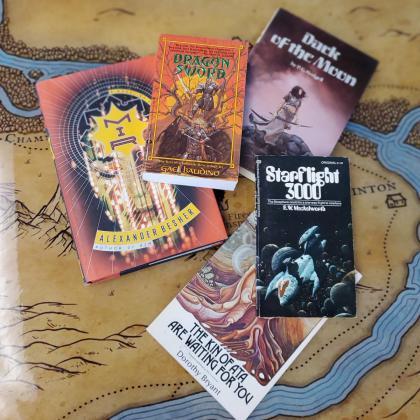 Quarantine Survival Kit: Science Fiction Books
