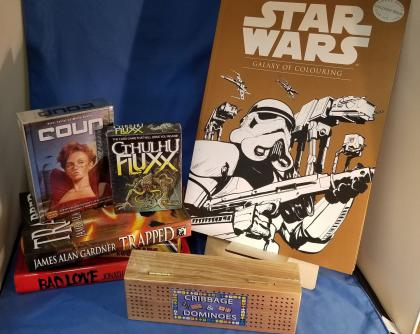 Quarantine Survival Kit: Anti-Plague Box, Entertainment for the GROWN-UPS Edition