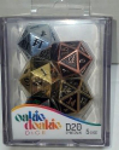 Okie Dorkie Dice 5D20 Spindown Metal Selection