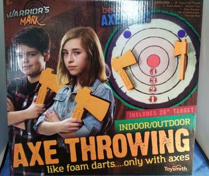 Warrior's Mark Axe Throwing