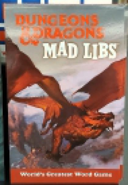 Dungeons and Dragons : Mad Libs