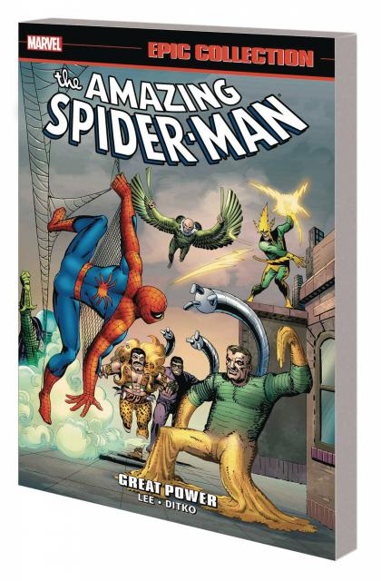 Great Power The Amazing Spider-Man Epic Collection