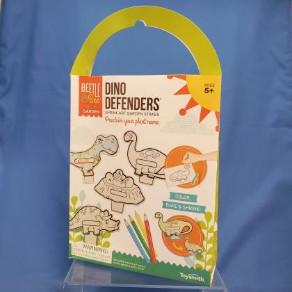 Dino Defenders: Shrink Art Garden Stakes