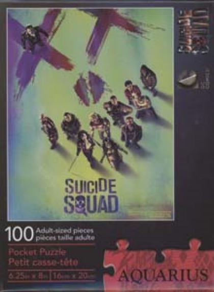 Suicide Squad 100 Piece Pocket Puzzle