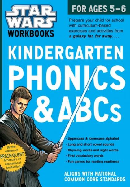 Star Wars Workbooks: Kindergarten Phonics & ABCs