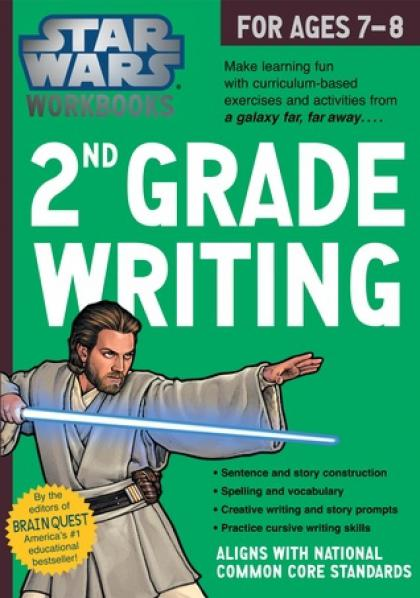 Star Wars Workbooks: 2nd Grade Writing