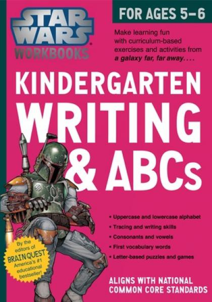 Star Wars Workbooks: Kindergarten Writing & ABCs
