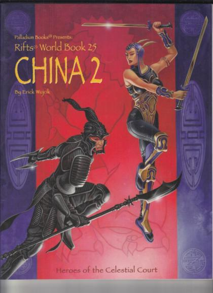 Rifts World Book 25: China 2- Heroes of the Celestial Court