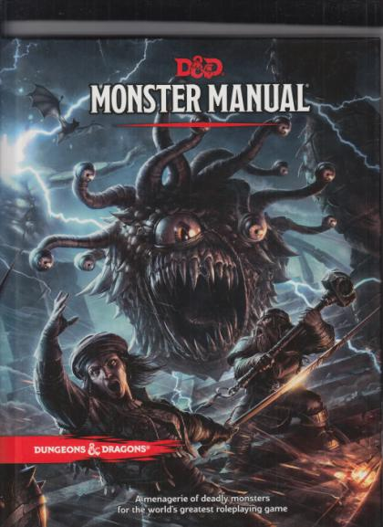 D&D: 5th Edition: Monster Manual