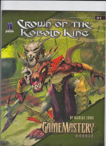 Crown of the Kobold King: GameMastery Module D1