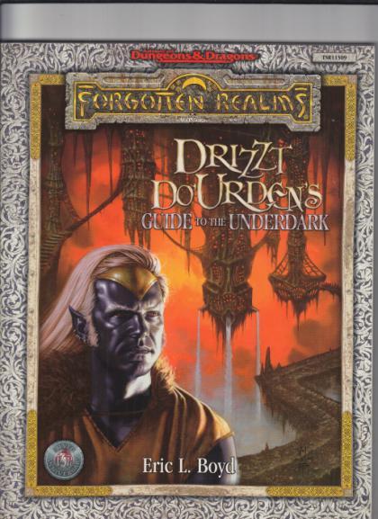 Forgotten Realms: Drizzt Do'Urden's Guide to the Underdark