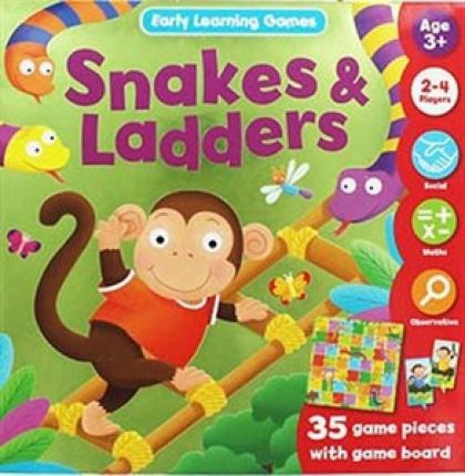 Snakes & Ladders (Early Learning Game)
