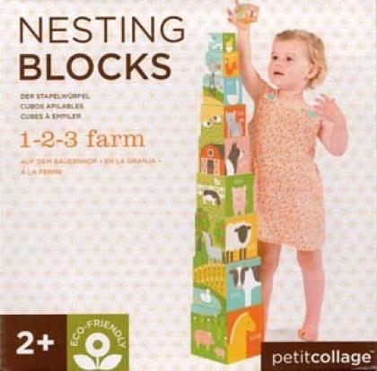 1-2-3 Farm Nesting Blocks