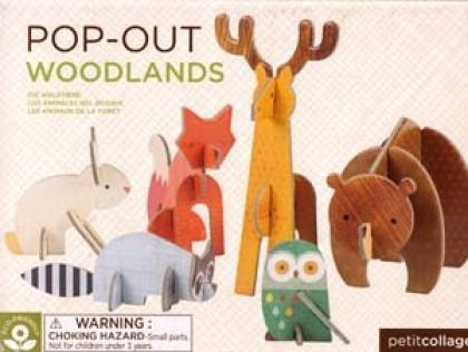 Pop-Out and Build Woolands