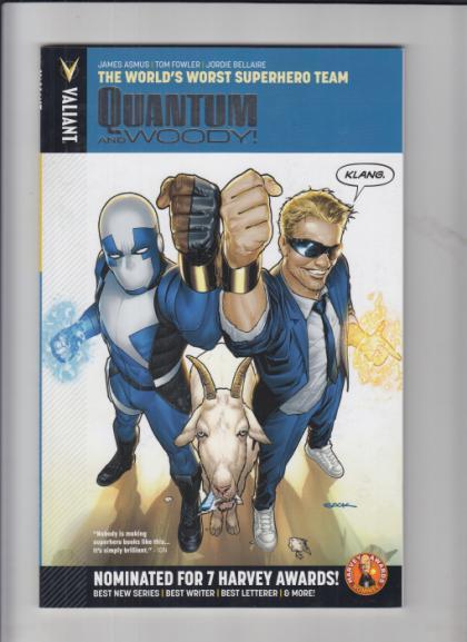 Quantum and Woody: The World's Worst Superhero Team