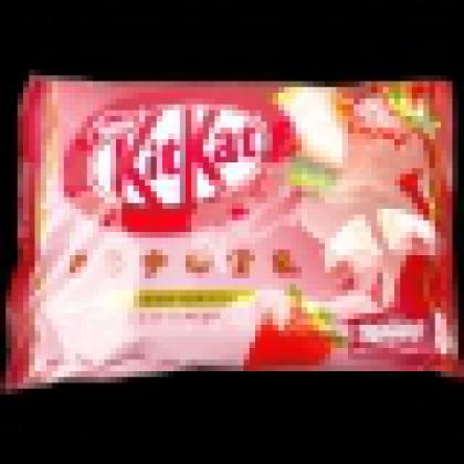 NESTLE Kit Kat Strawberry Biscuits in Chocolate 12PCS