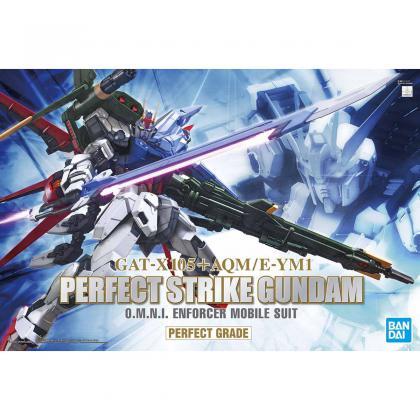 "Perfect Strike Gundam ""Gundam SEED"", Bandai Spirits PG"