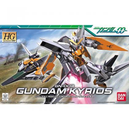 """#4 Gundam Kyrios """"Gundam 00"""", Bandai HG 00"""