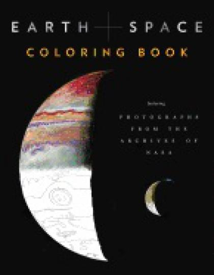 Earth & Space Coloring Book Featuring Photographs from the Archives of Nasa