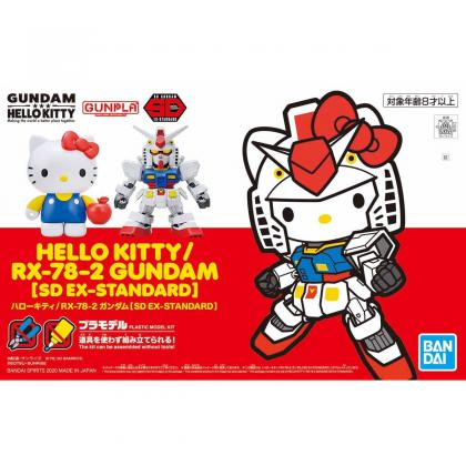 "Hello Kitty & RX-78-2 GUNDAM ""Gundam"", Bandai Spirits SD-EX Standard"