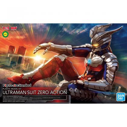 "Ultraman Suit Zero (Action Ver.) ""Ultraman Zero"", Bandai Spirits Figure-rise Standard"