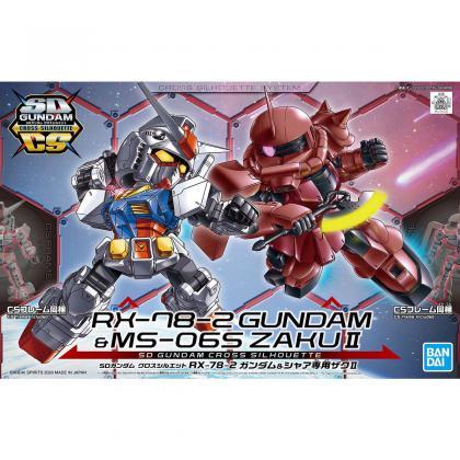 "RX-78-2 Gundam & MS-06S Zaku II ""Gundam Build Divers Re:Rise"", Bandai Spirits SDCS"