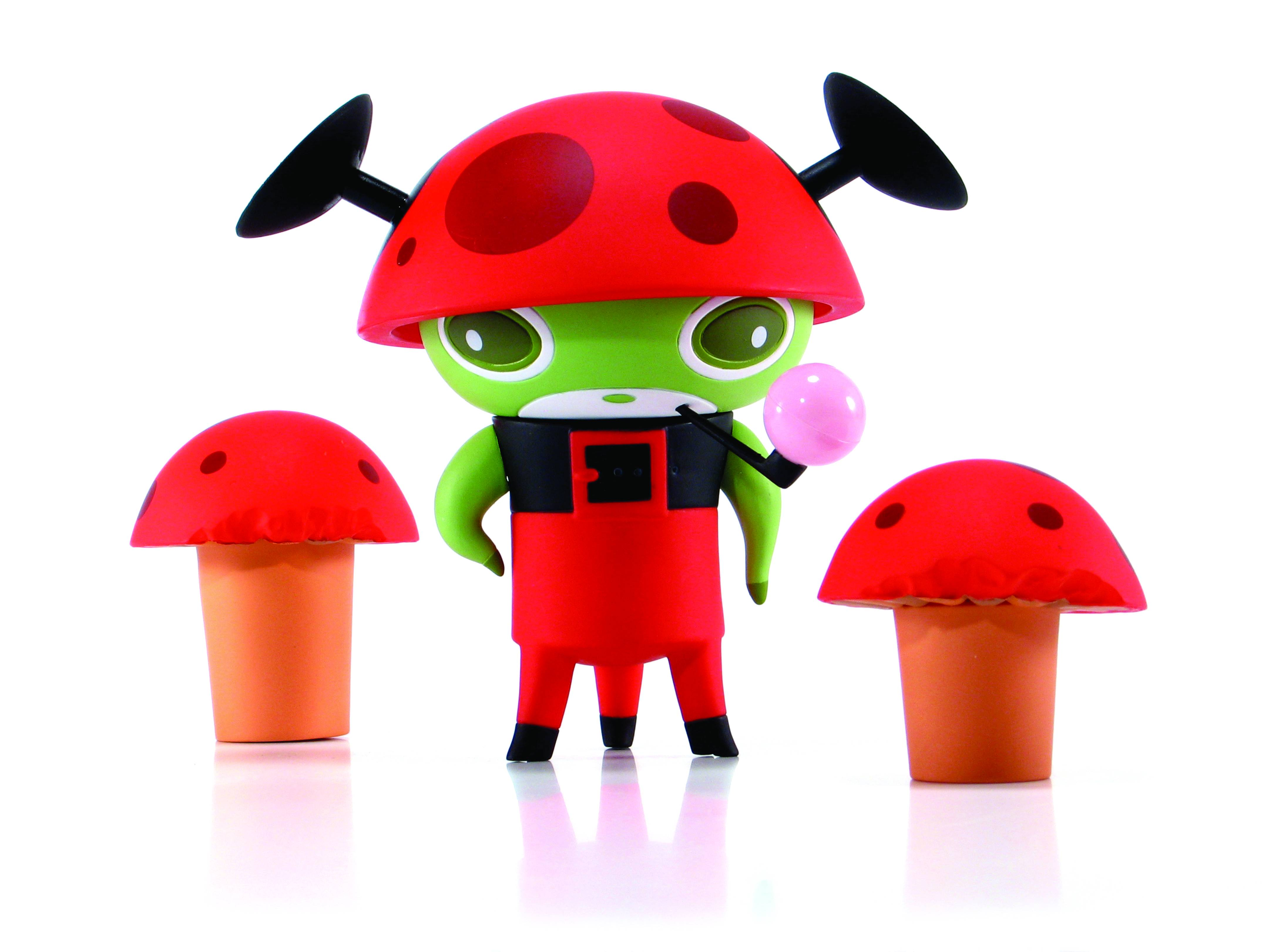 Mini Treehouse Figures: Naal, Red Version