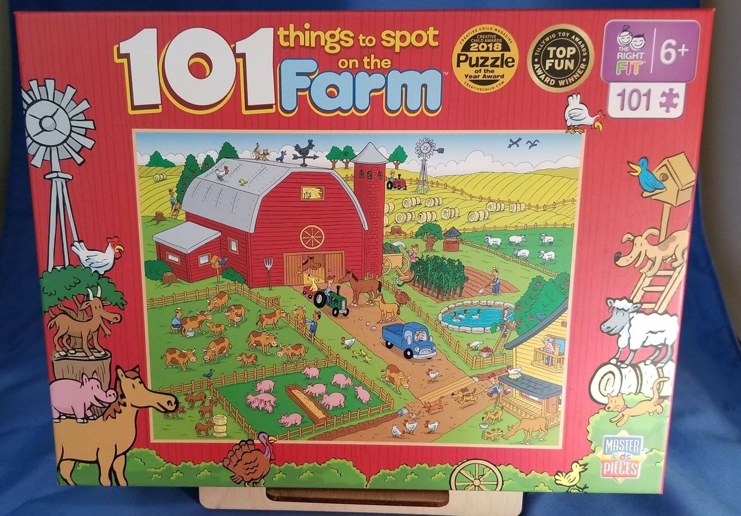 101 Things to Spot on the Farm 101 Piece Puzzle