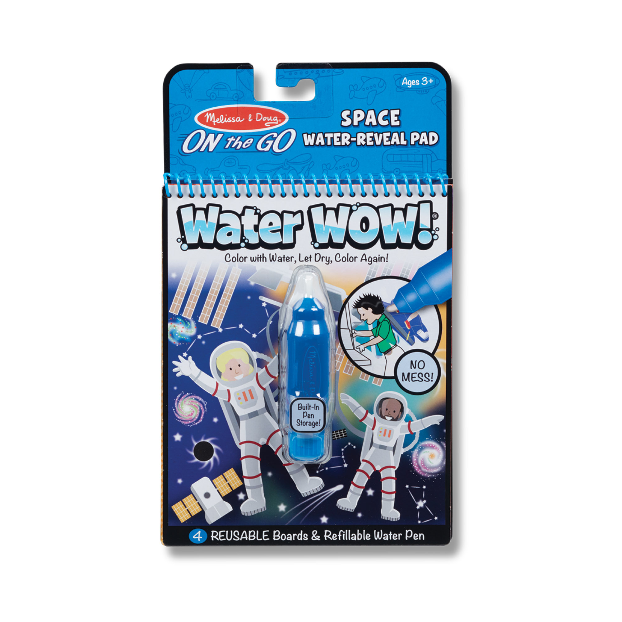 Water Wow! Space Water Reveal Pad